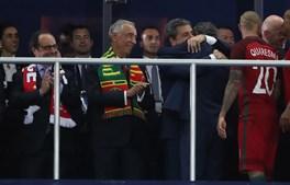 Portugal é campeão europeu em Paris. Marcelo parabenizou os jogadores da seleção portuguesa
