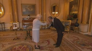 Marcelo Rebelo de Sousa em visita de oficial ao Reino Unido