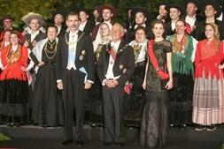 Marcelo Rebelo de Sousa recebe os Reis de Espanha. Jantar de gala oferecido pelo Presidente da República em honra de Suas Majestades os Reis de Espanha, no Paço dos Duques de Bragança, em Guimarães