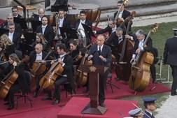 Marcelo Rebelo de Sousa discursa nas cerimónias funebres de Mário Soares