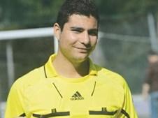 O árbitro Bruno Duarte