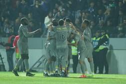 As melhores imagens do jogo entre Feirense e FC Porto