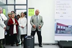 Primeiro-ministro, António Costa, esteve presente na inauguração do Centro de Saúde de Odivelas
