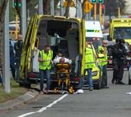 Imagens do ataque a mesquita na Nova Zelândia