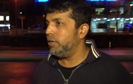 Syed Mazharuddin sobreviveu ao tiroteio numa mesquita da Nova Zelândia
