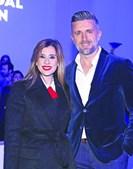 Mónica Sintra com o namorado, Luís Azevedo