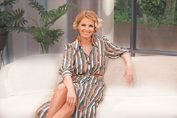 A apresentadora da SIC Cristina Ferreira