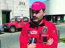 Pedro Ribeiro, comandante interino, lamenta escassez de espaço no quartel