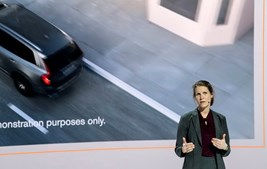 Apresentação de dispositivos de segurança da Volvo