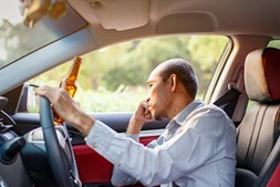 Condutor embriagado