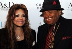 Latoya Jackson e o pai, Joe Jackson