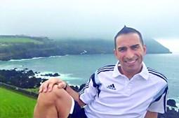 Nuno Manso, de 43 anos, é árbitro auxiliar de futebol de 1ª categoria