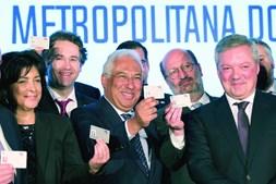 Primeiro-ministro, António Costa, tem andado pelo país a apresentar os novos passes sociais. Aqui, na Área Metropolitana do Porto