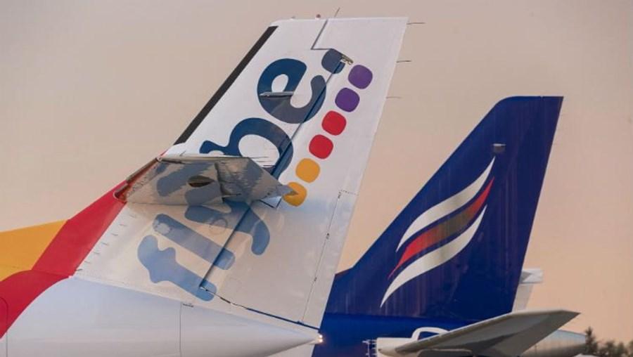 Avião da companhia aéreaFlybe Group