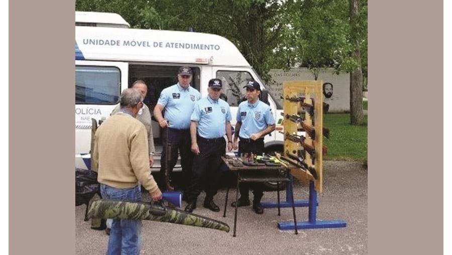 PSP tem em curso campanha de recolha de armas ilegais