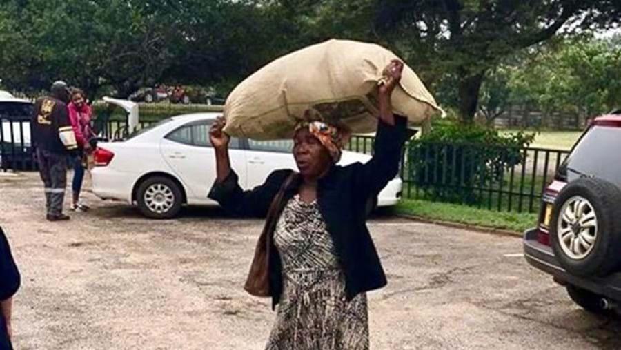 Mulher de 71 anos andou 10 km a pé para ajudar vítimas do Idai