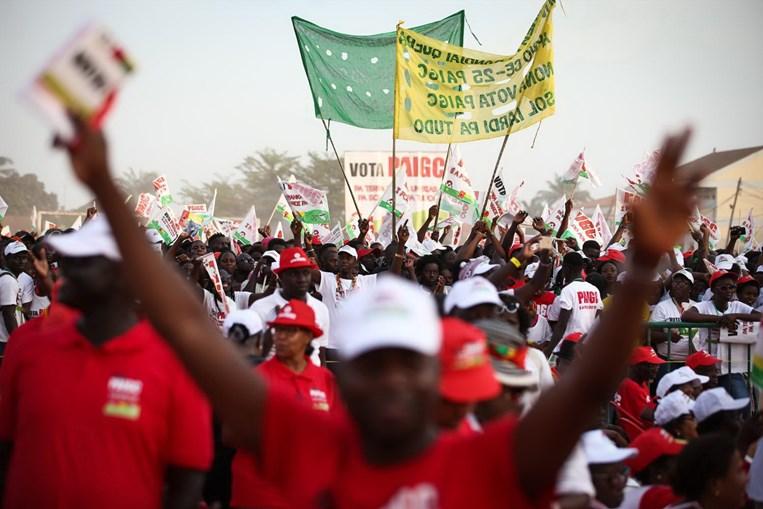 Campanha eleitoral na Guiné-Bissau
