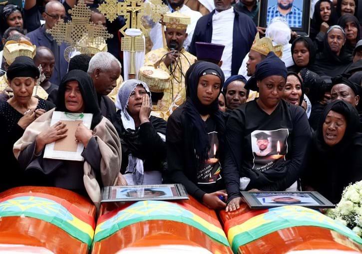 Etiópia celebrou funeral simbólico das vítimas da queda do Boeing 737 Max 8