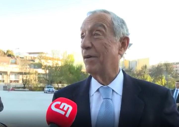 Presidente da República garantiu que não vai perder o primeiro episódio de 'Alguém Perdeu'.