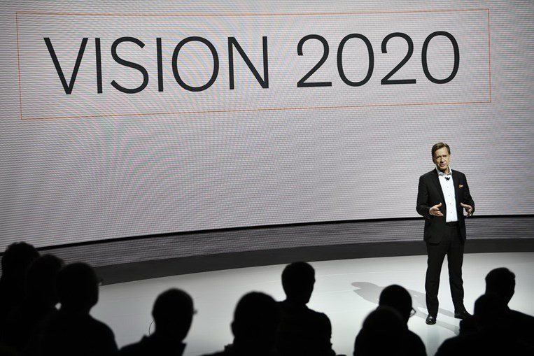 Hakan Samuelsson, CEO da volvo