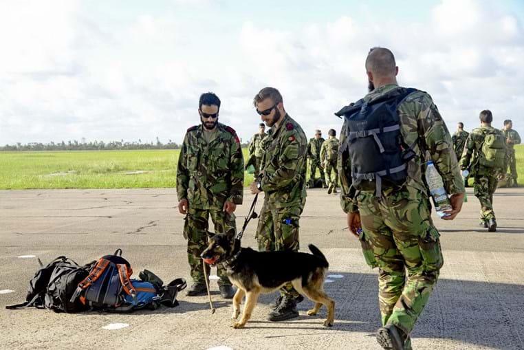 Militares portugueses em Moçambique