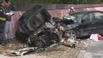 Colisão entre dois carros faz quatro feridos em Vila Nova de Gaia