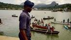 Navio-patrulha português continua buscas após naufrágio em São Tomé e Príncipe