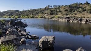 Catástrofe ambiental com seca no rio Tejo