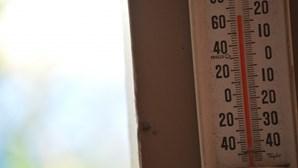 Aumentodas temperaturas máximas para esta quinta-feira