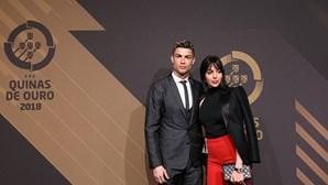 Ronaldo e Georgina em férias secretas no Mónaco
