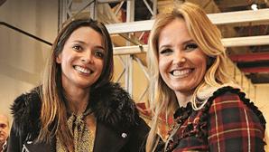 """Cristina """"rouba"""" amigas de Maria Cerqueira Gomes para programa"""