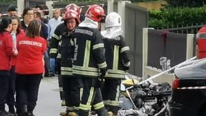 Dois amigos motards morrem após despiste de carro em Paredes