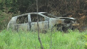 Jovem encontrado carbonizado debaixo de carro nas Caldas da Rainha foi vítima de homicídio