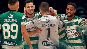Sporting na final da Liga dos Campeões de futsal ao vencer bicampeão Inter Movistar