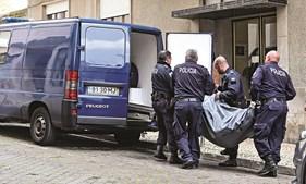 Corpo de Heila Lopes foi retirado por agentes das automacas da PSP