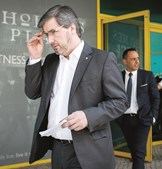 Bruno de Carvalho foi presidente do Sporting entre 2013 e 2018