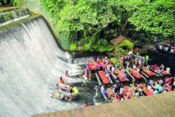 The Labassin Waterfall All Restaurant