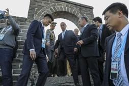 Marcelo na visita oficial à China