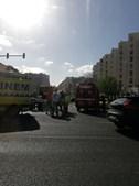 Acidente na Avenida Gago Coutinho