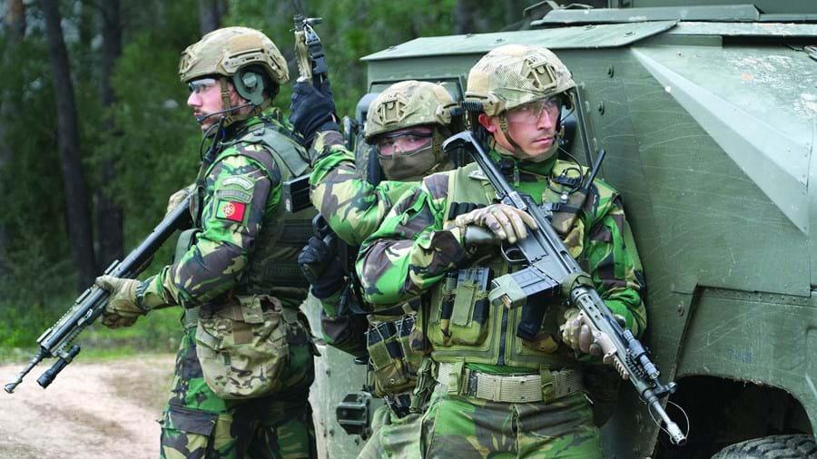 Militares das Forças Armadas