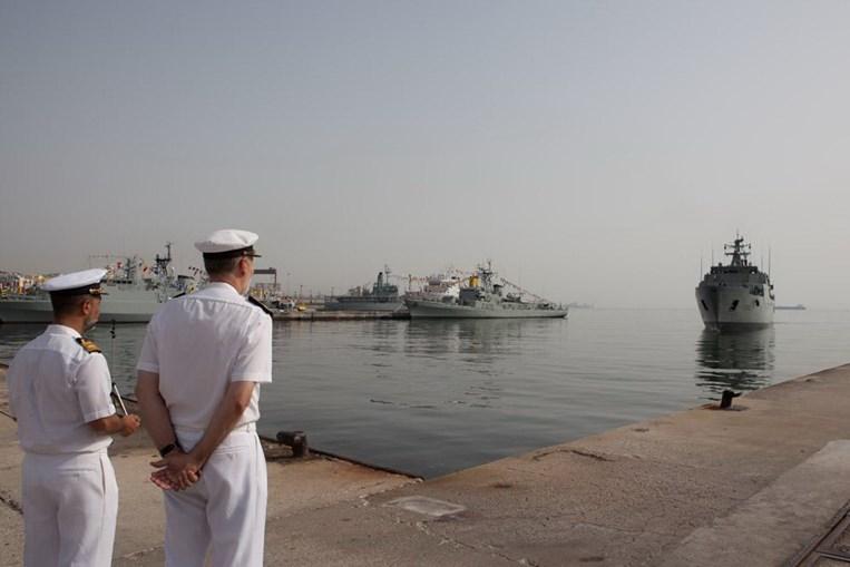 Base Naval do Alfeite, em Lisboa