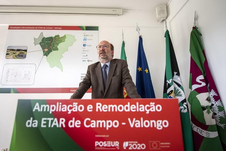 João Pedro Matos Fernandes esteve no lançamento da primeira pedra da obra que beneficia Paredes e Valongo