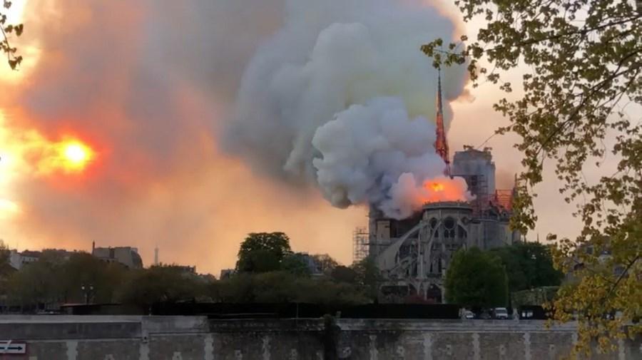 Incêndio na Catedral de Notre-Dame