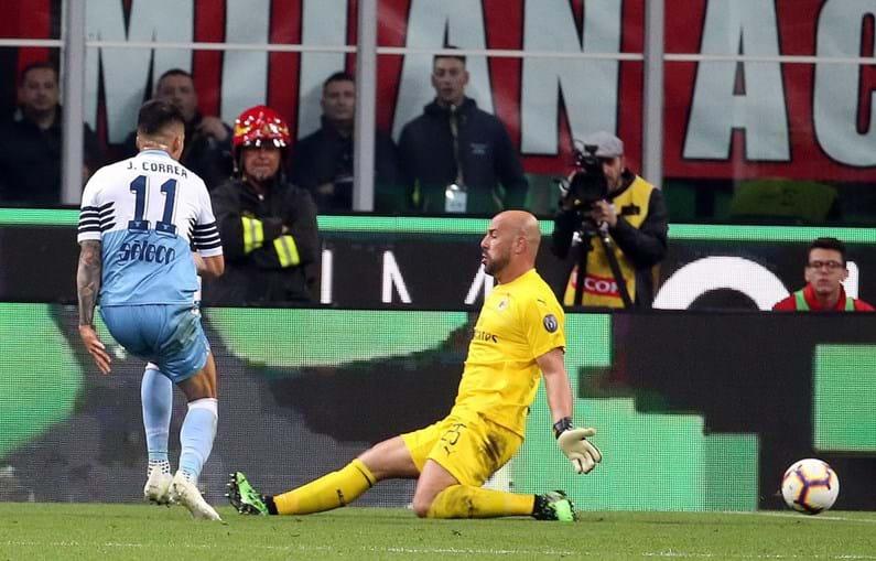 Um golo do médio argentino Joaquin Correia bastou para a Lazio garantir um lugar na final da Taça de Itália