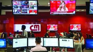 CMTV dispara 13,5% face ao ano passado