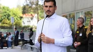 """Casillas à saída do hospital: """"Não sei como vai ser o meu futuro"""""""