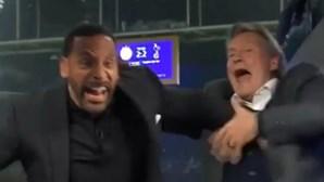 Lendas do futebol inglês festejam o golo de Lucas Moura de forma ferverosa