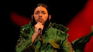 Conan Osíris reage a prémio de pior indumentária da Eurovisão