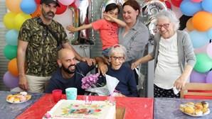 Mariana festejou 102 anos em Silves