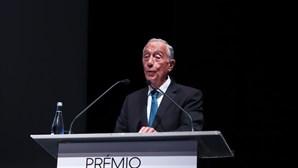 """Marcelo critica """"cegueira"""" face às alterações climáticas, mas elogia Portugal"""